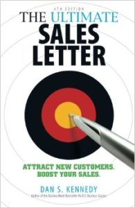 Get Dan Kennedy's book on how to write a sales letter. It's how I started.